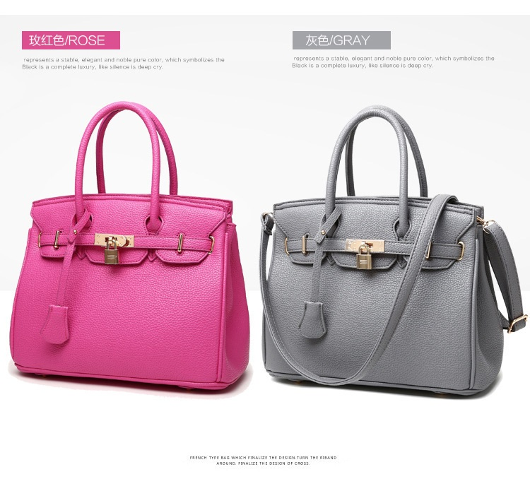 eda237bd596 2019 China Wholesale Guangzhou supplier custom fashion luxury brand classic  pu Leather women handbags of ladies