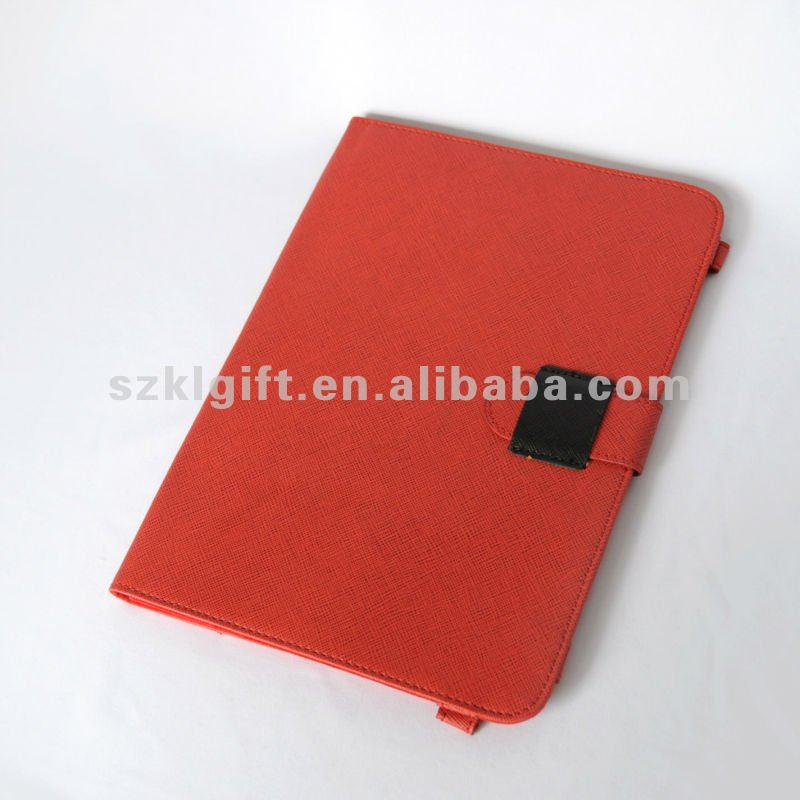 OEM Manufacture Shenzhen Red PU Leather 7 Inch Table Protective Cover Case,Table PC Pouch