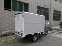 Heavy Loading 3 Wheels Motor Cargo Motorcycle With Foldable Cargo Box Hot Sales