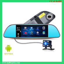 "7"" 3G Special Mirror Rearview Car DVR Camera DVRs Android 5.0 With GPS Navigation Automobile Video Recorder Dash Cam"