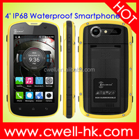 PROOFINGS W5 4 inch 6735 Quad Core Android 5.1 1GB RAM 8GB ROM IP68 Waterproof Rugged Super Slim 4G LTE Smartphone