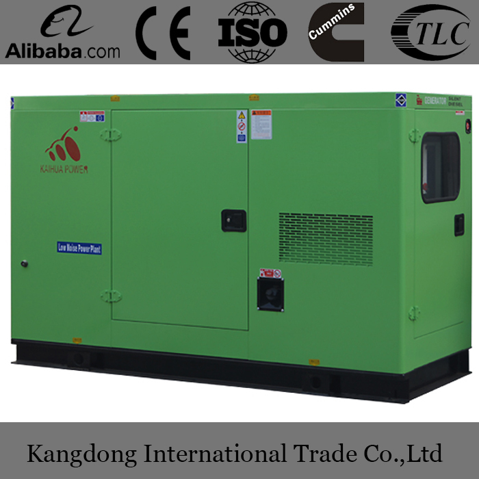 4BT3.9-G1 30kW Soundproof Generator Sets/Gensets powered by diesel engine