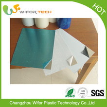 adhesive protective film for polyurethane foam sandwich panels