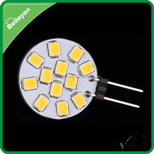 G4 24v led bulbs Epistar 2835, DC 9-30V g4 led light, 2W g4 led bulb