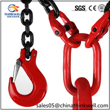 Heavy Duty Lifting Chain Sling Lifts 5 Ton With 4 Legs