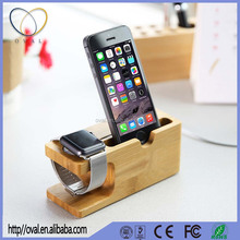 Portable Universal Wooden Phone Holder Stand Office Desk Home Table for iphone Holder Stand For iPhone 6 / Plus For Other Phones