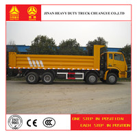 Hot Sale Product Sinotruk Hohan 8*4 tipper truck