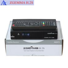 enigma2 linux DVB ZGEMMA H.2S twin tuner DVB S2&S satellite receiver kodi player support SD/TF card