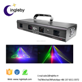 new 2017 professional lighting sound active rgby laser four lens gobo sky beam light
