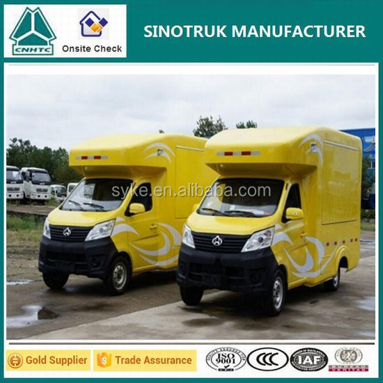 Customized mobile car/ mobile food cart/ fast food car with competitive price