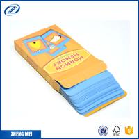 Flash cards wholesale custom game card printing