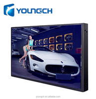 Ultra thin metal back strong enclosure black frame great resolution hd color 22'' graphics digital processing circuit monitor
