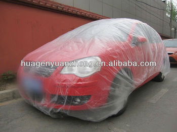 Plastic Protective Car Cover