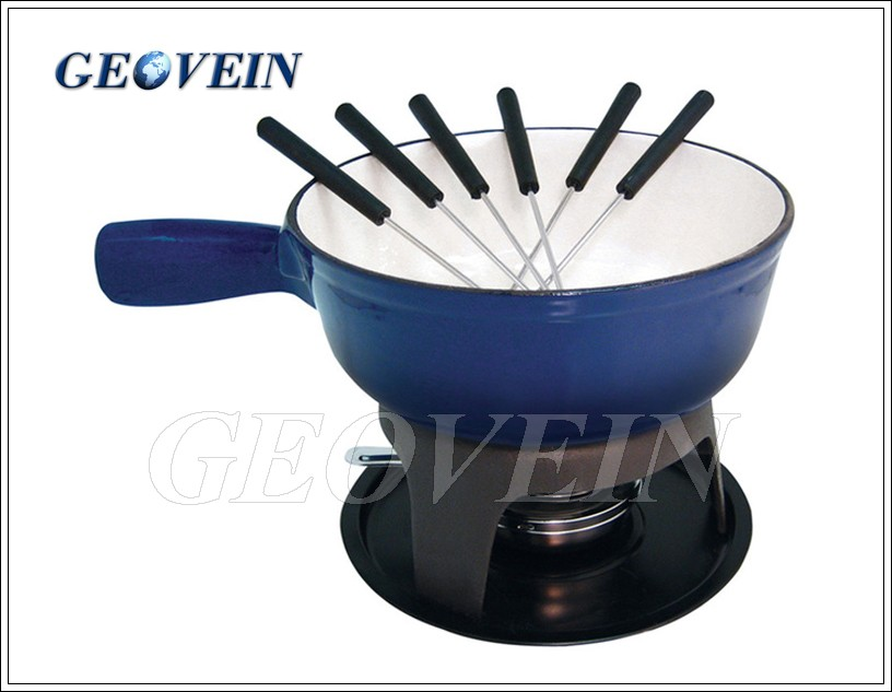 Wholesale enamel cast iron kitchen accessories soup stock pot