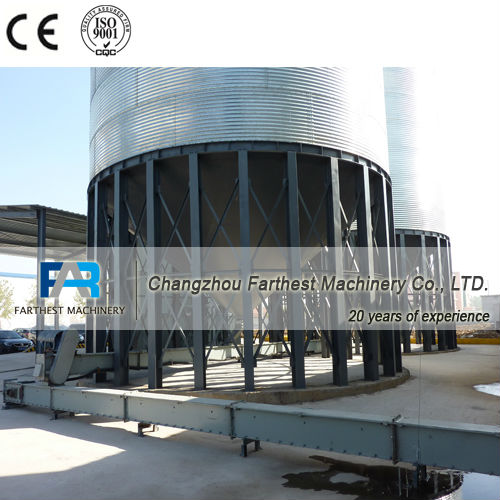 Bolted Steel Silos for Corn and Wheat Storage