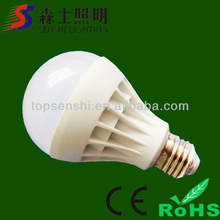 Imitation ceramic e27 led plastic bulb 3w 5w 7w led lighting bulb