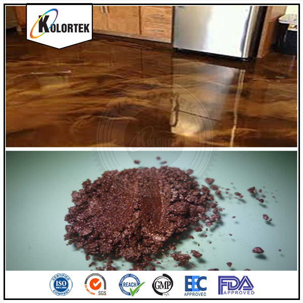 3D epoxy color flakes powder coating, metallic epoxy pigments for floor china supplier