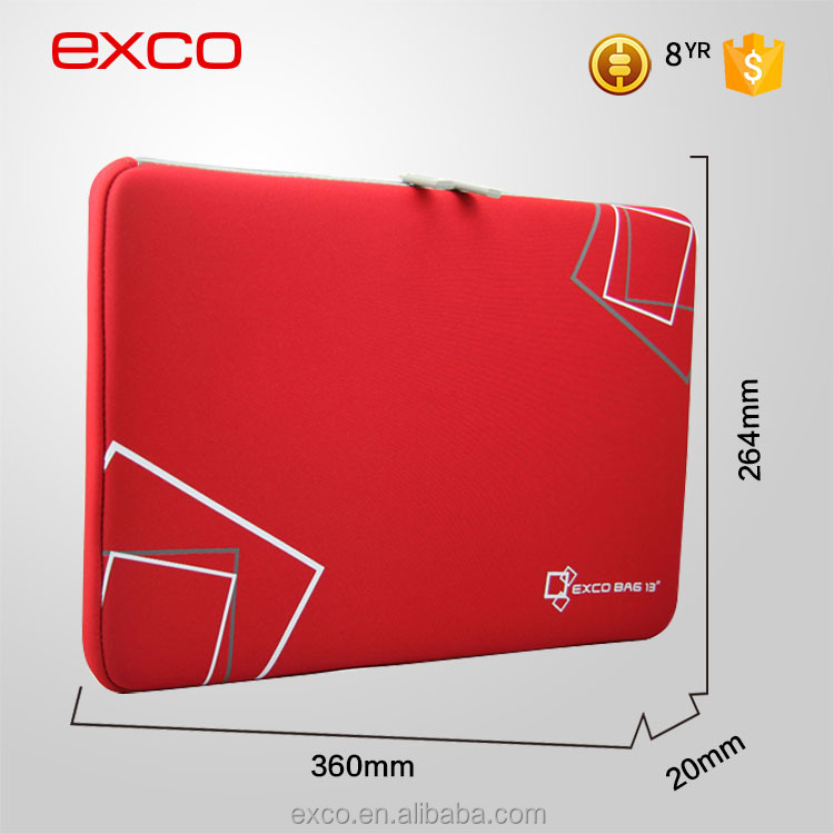 EXCO wear resistance waterproof pattern universal laptop neoprene case bag sleeve for 13'' laptops