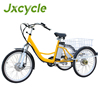 10ah Lithium battery Adult tricycle bike with pocket for sale