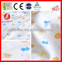 various soft wicking embroidery designs for baby garments fabric