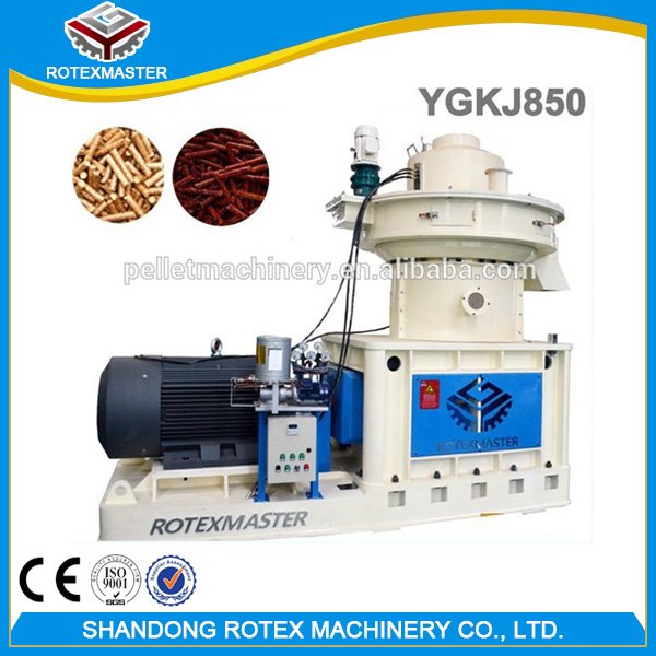 CE Cotton Seeds Rice Husk Wood Pellet Mill Machine / Pellet Machine for Wood