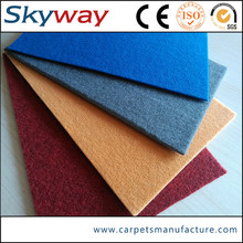 branded red exhibition carpet manufacturer
