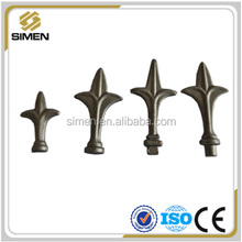 Wrought Iron Railhead/Forged Metal Fence Spear Points