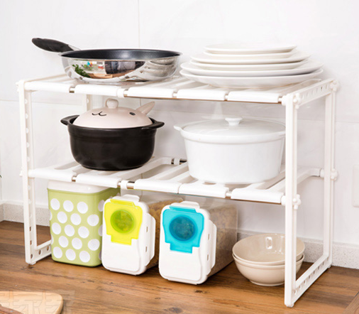 Storage Holders&Racks Type and Eco-Friendly Feature Bathroom Kitchen Shelf