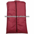 2016 fasion wenzhou cangnan Polyester men suit cover bag