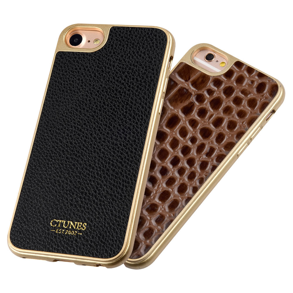 C&T Marble Pattern PU Leather Lightweight Ultra Slim Protective Phone Case for iPhone 7 Plus