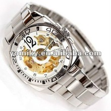 2012 Best quality automatic skeleton cheap unique watches 2012