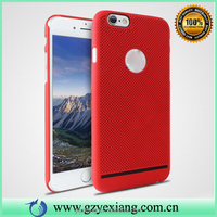 Mobile accessories mesh design hard pc back cover for iphone 5g heat dissipation case