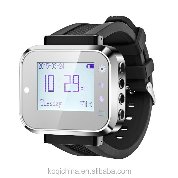 HOT SALE K-300PLUS Wireless Restaurant Service Waiter Watch Pager