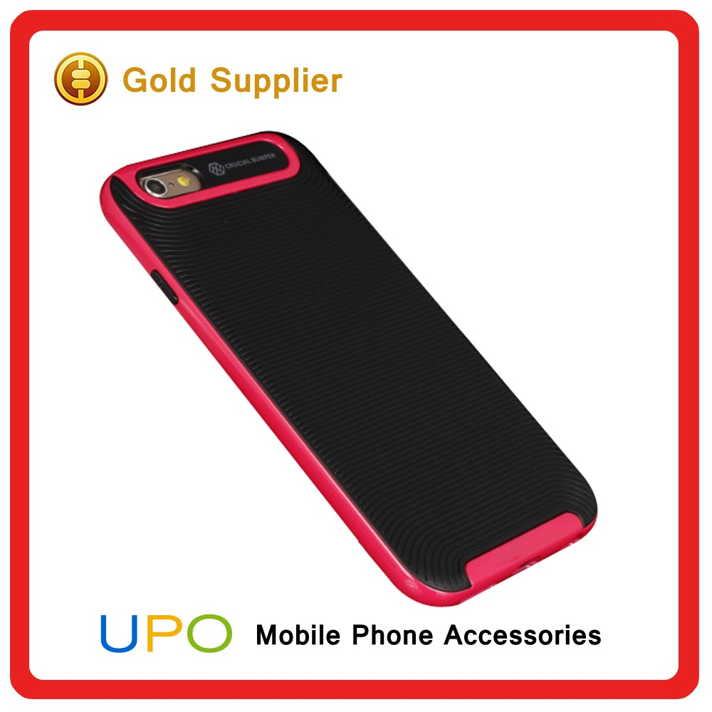 [UPO] New Arrival Shockproof Thunder Armor Hard TPU PC Plastic Back Cover Case for iPhone 6