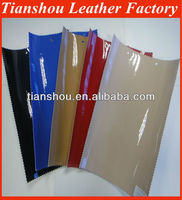 Artifical leather 0.7mm lining leather for shoes patten design