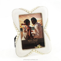 HOMEQI metal pewter alloy photo picture frame laser photo frame engraving machine HQ070188-35