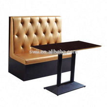 oval sofa Booth Sofa For Restaurant