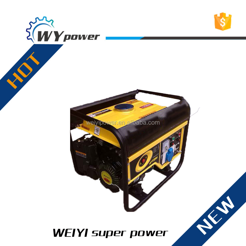Weifang power portable 1kw gasoline generator