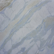 Blue sky marble polished tiles with natural vein appearance