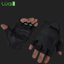 Italian leather cycling glove