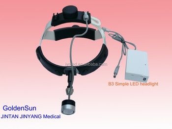 simple 3w led medical surgical head lamp