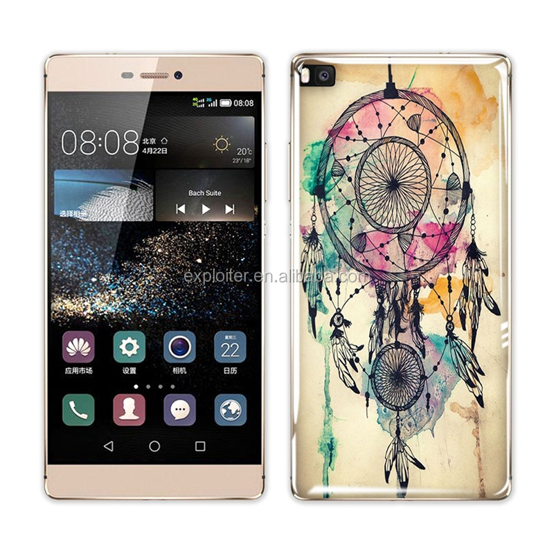 Wholesale ultra-thin soft gel mobile phone cover for huawei p8 lite case back cover