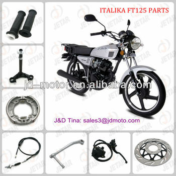 spare parts for ITALIKA FT125