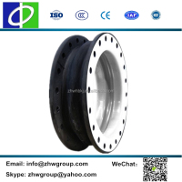 Corrosion resistant jis single sphere expansion joint ptfe rubber bellows