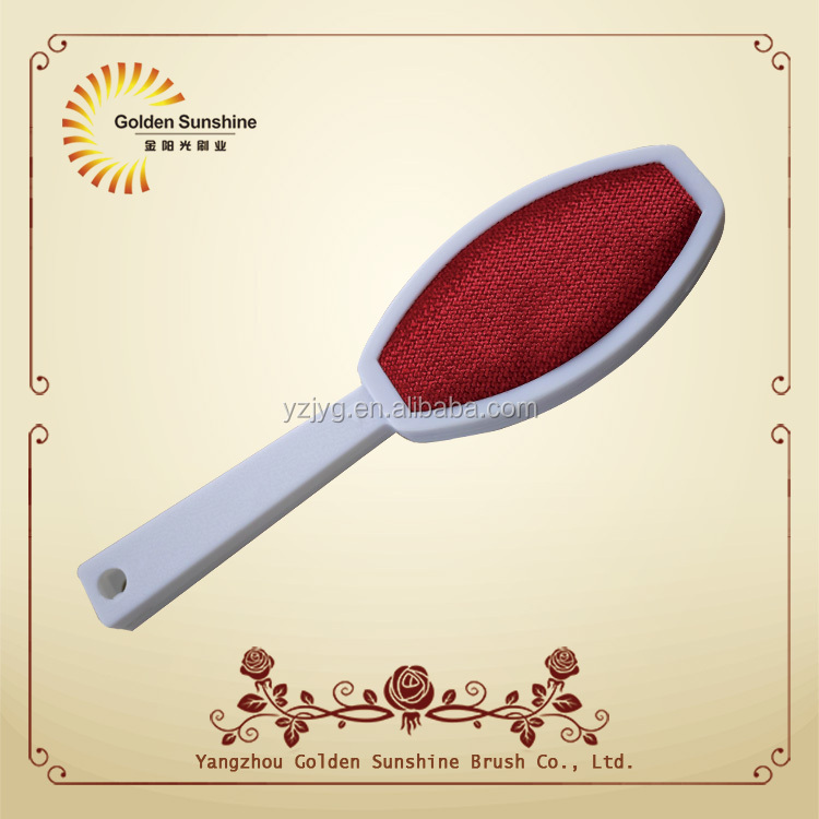 TV hot selling plastic magic lint clothes brush , dust removal brush