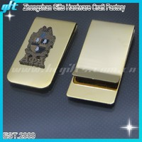 Best Selling wallet money clip/18k gold money clips/Hot sales Masonic money clip