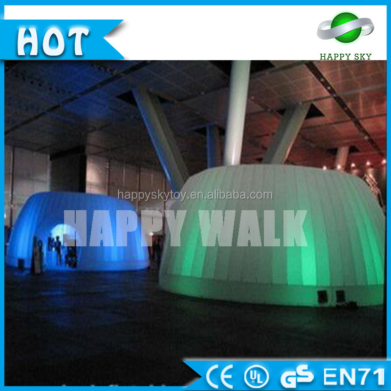 Best selling!!!inflatable photo booth with colorful led lights,Outdoor event party light inflatable tent for wedding