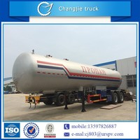 Hot selling customized high quality Q345R 40.5m3 mini lpg semi trailer,pressure vessel tank trailer,lpg cylinder semi trailer