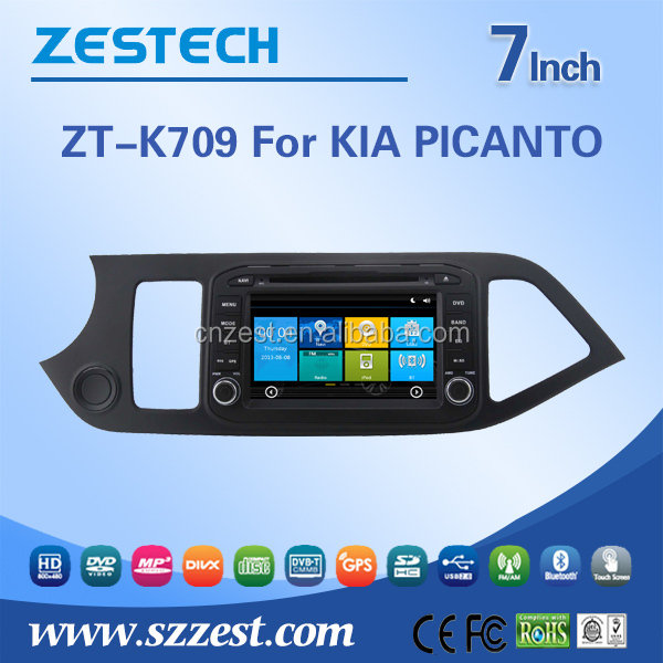 Car parts accessories car gps navigation system for Kia PICANTO MORNING 2015 2016 multimedia stereo DVD player GPS navigation