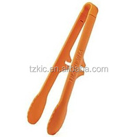 Plastic Salad Server Utensil tong with Hook
